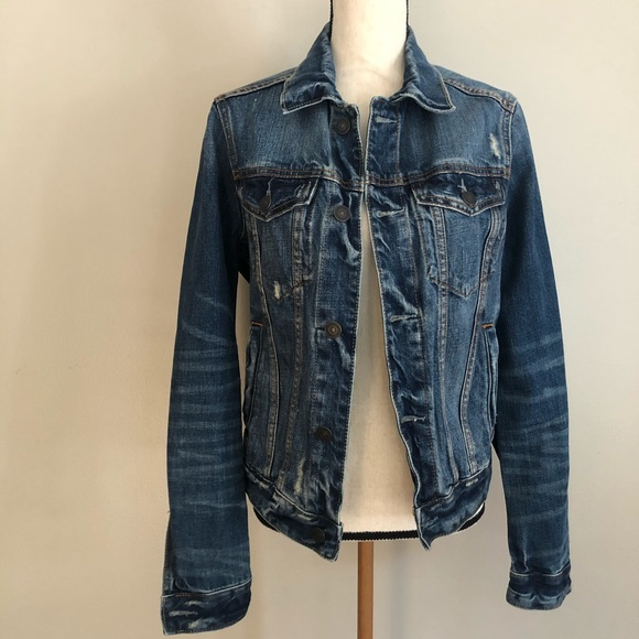 Abercrombie & Fitch Distressed Jacket NWT